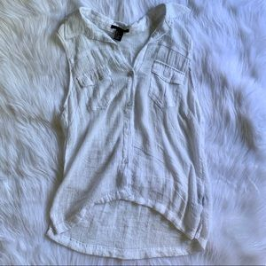 Forever21 Button Up Tank